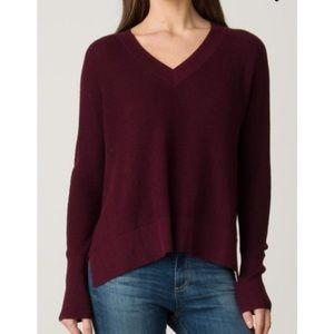 Margaret O'Leary Cashmere Shirttail Hem Sweater
